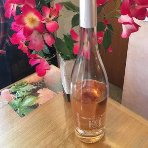 wine bottle Fleur d'Eglantine Chateau Mourgues du Gres