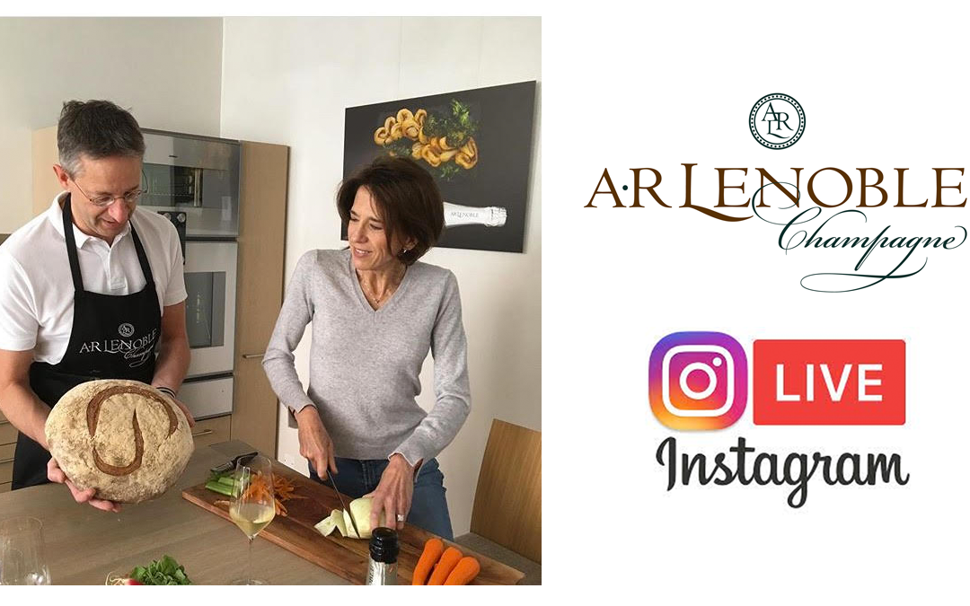 Thursday 10:30 am Join Anne and Antoine live from the kitchen of AR Lenoble