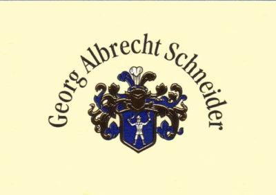 Georg Albrecht Schneider